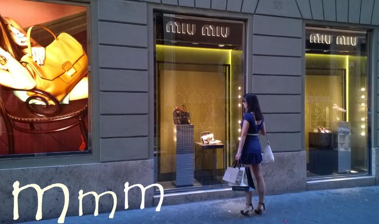 Rome shopping